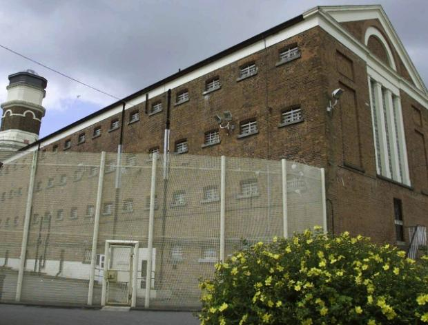 Fire in cell at Winchester Prison