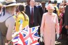 Queen visits New Forest Show