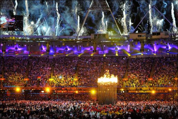 Images from the 2012 Olympic Opening Ceremony