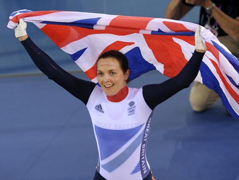 Cycling queen Victoria Pendleton