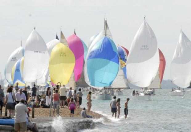 TROUBLED WATERS? The ever popular Cowes Week