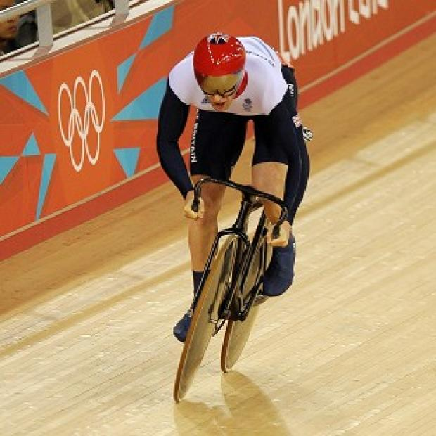 Jason Kenny won the gold medal in the men's sprint
