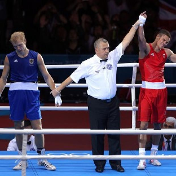 Anthony Ogogo, right, hopes he can inspire more Brits to glory following his win