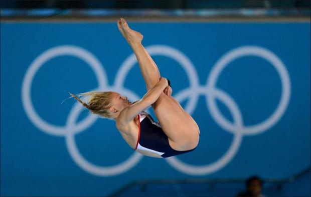No final place for diver Powell