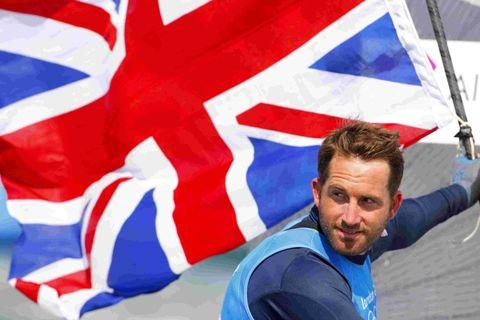 Triple gold: Ben Ainslie