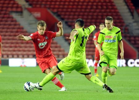Picture from the Saints v Udinese pre-season friendly at St Mary's. The unauthorised downloading, copying, editing, or distribution of this image is strictly prohibited.