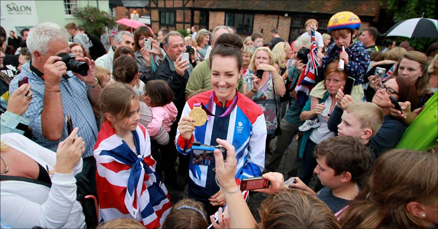 Cycle route to be named after Olympic hero