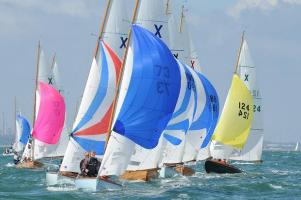 Daily Echo: An early hat-trick at Cowes week