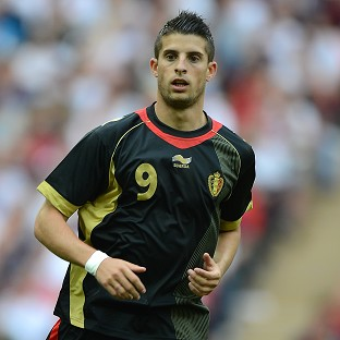 Kevin Mirallas will be introduced to Everton fans before their clash with Manchester United