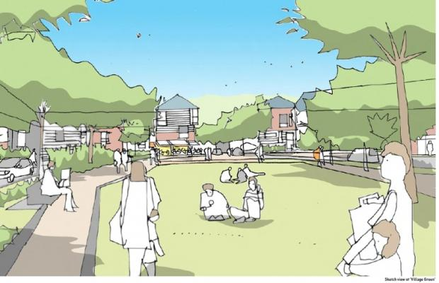 Part of the vision for Townhill Park