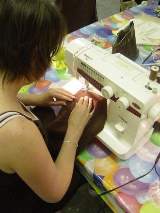 Learn to sew at community centre