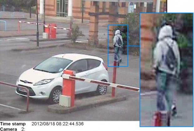 CCTV of the man police wish to trace