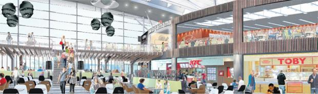 How the new look Food Terrace at WestQuay will look