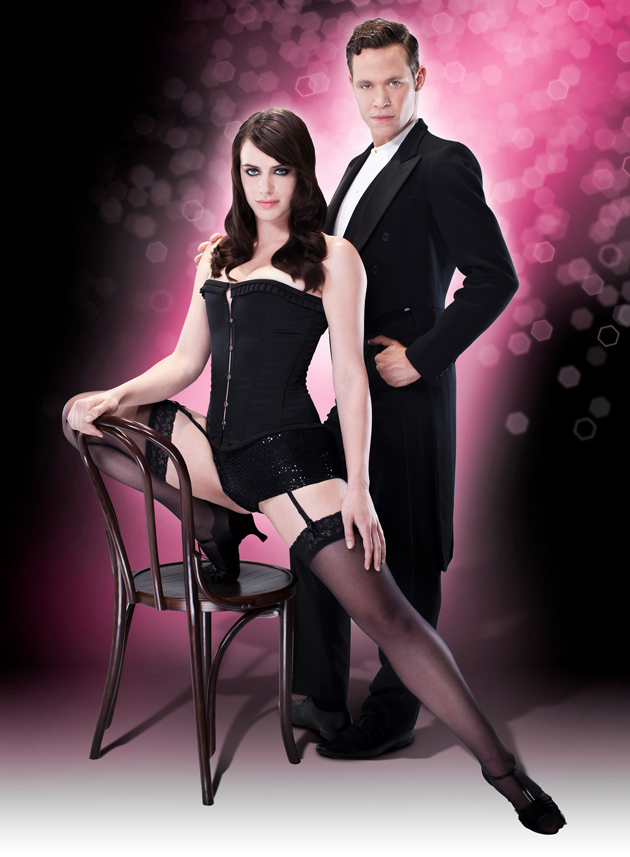 Michelle Ryan and Will Young in Cabaret