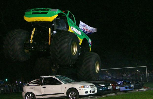 Southampton plays host to Extreme Events Europe's Monster Truck stunt show