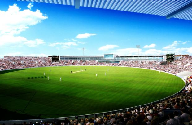An artist's impression of how the Ageas Bowl