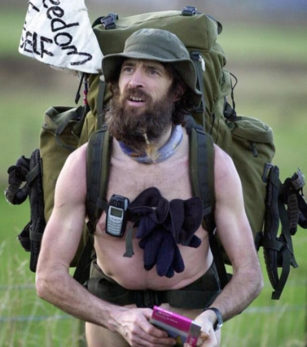 Naked Rambler faces court over breach of peace