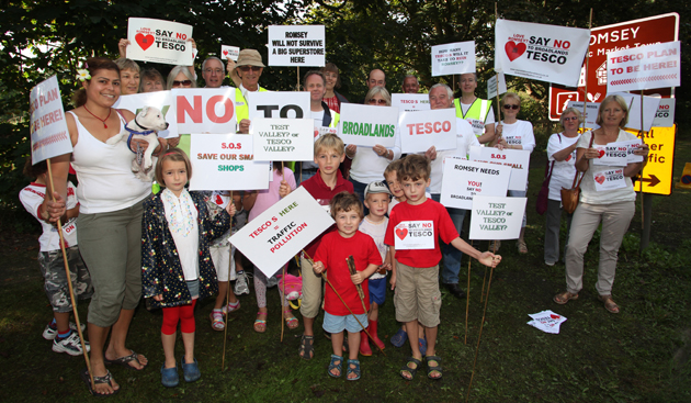 Controversial Tesco plans are submitted
