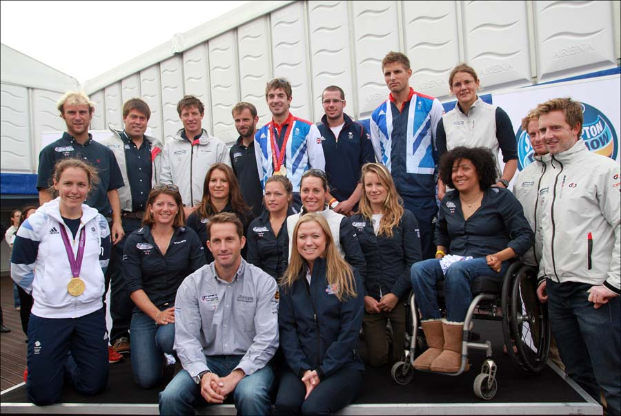 2012 gold medallists get PSP Southampton Boat Show underway