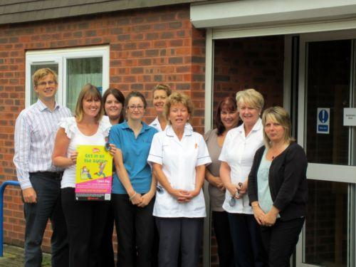 Staff at Grove Medical Practice in Shirley