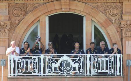 Picture from the Hampshire v Warwickshire CB40 final at Lords. The unauthorised downloading, editing, copying or distribution of this image is strictly prohibited.