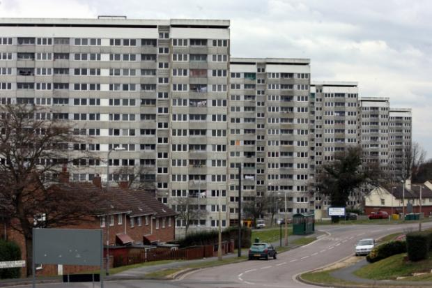 Daily Echo: Weston towers