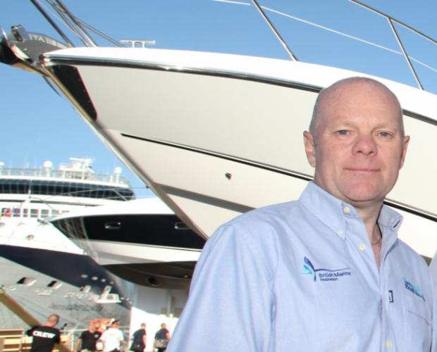 Boat show boss Murray Ellis