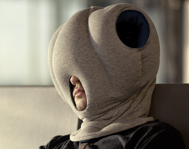 Invention which allows you to bury your head