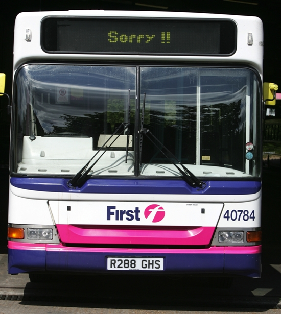 Bus services across Hampshire are under threat as the county council looks to cut £1.5m from its transport budget