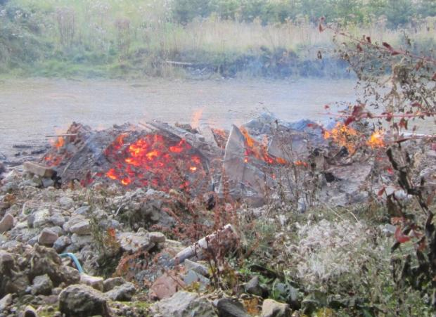 Crackdown on illegal waste burning