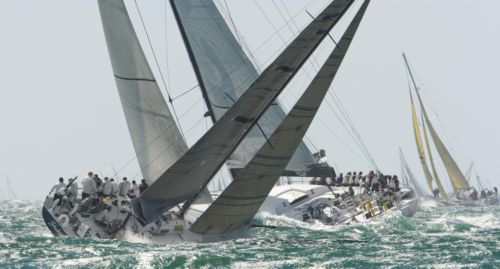 Action from this year's Fastnet Race