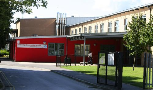 Redbridge Community School, where the girl is a pupil