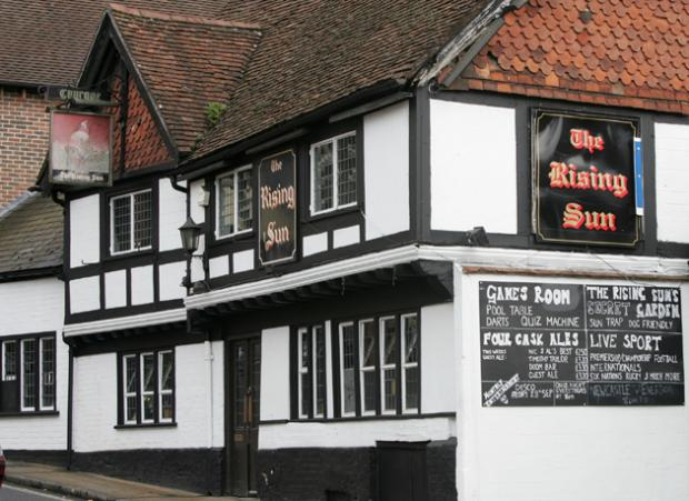 Daily Echo: The Rising Sun, Winchester