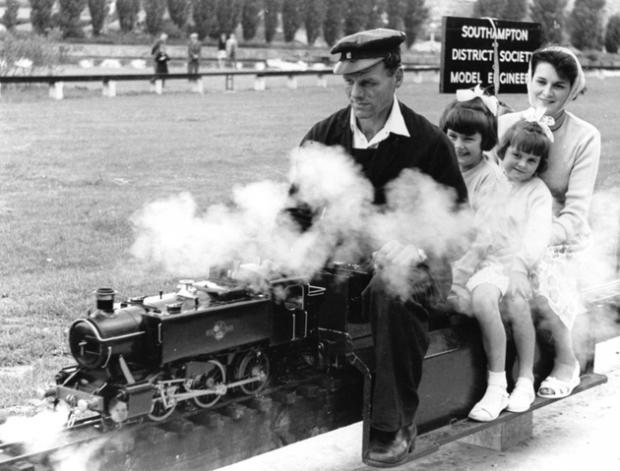The steam queens at Riverside Park in 1962
