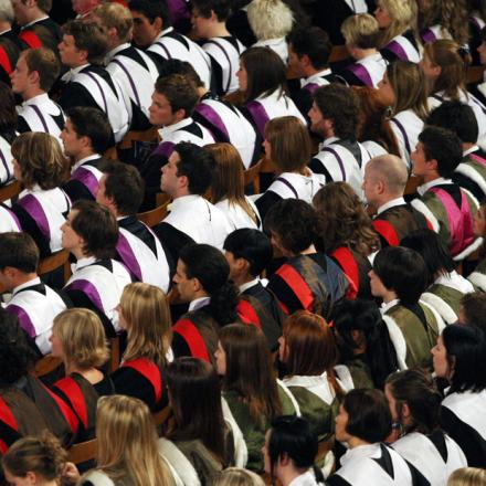 There will be fewer graduates in years to come