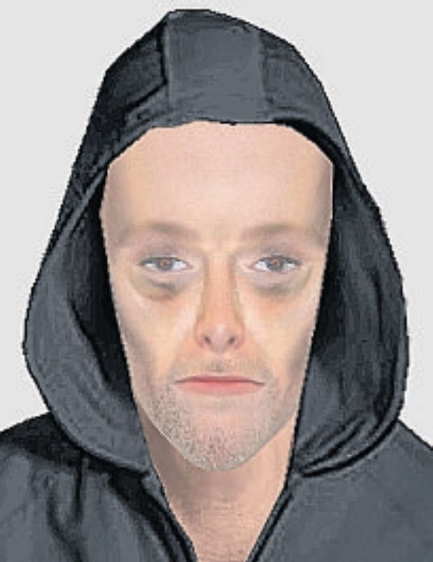 Police efit of the suspect