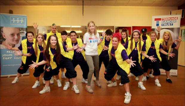 Dancers taking steps to boost cancer charity