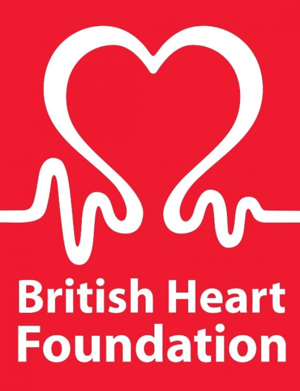 Town backs heart charity