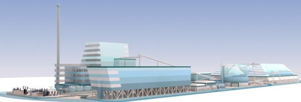 Company's preferred design for biomass plant