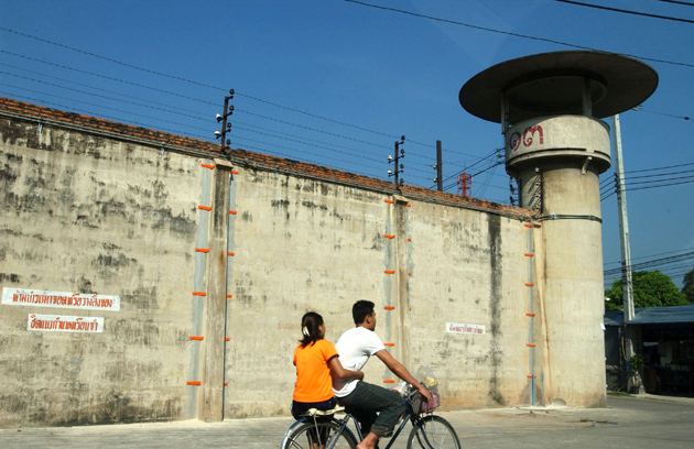 Bangkwang Prison. Photo by Rex Features