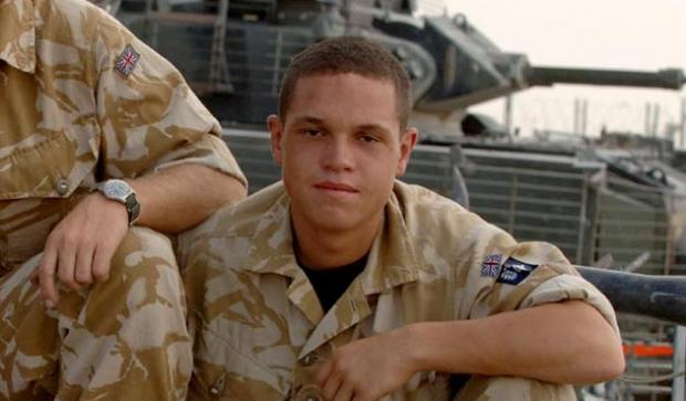 Mitchell Wickenden on a tour of duty in Iraq