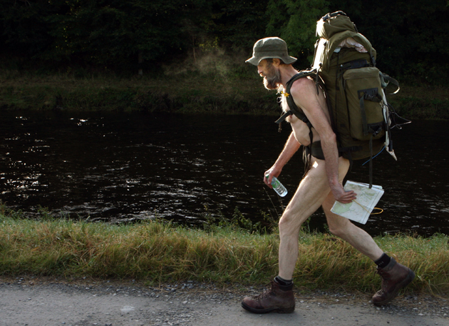 Naked rambler to stand trial again
