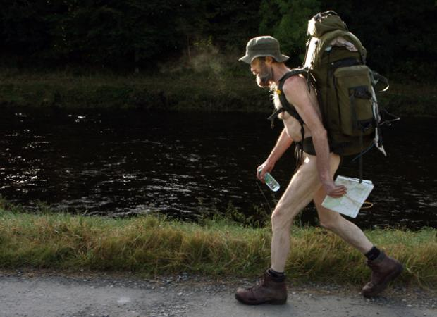 Stephen Gough, the Naked Rambler