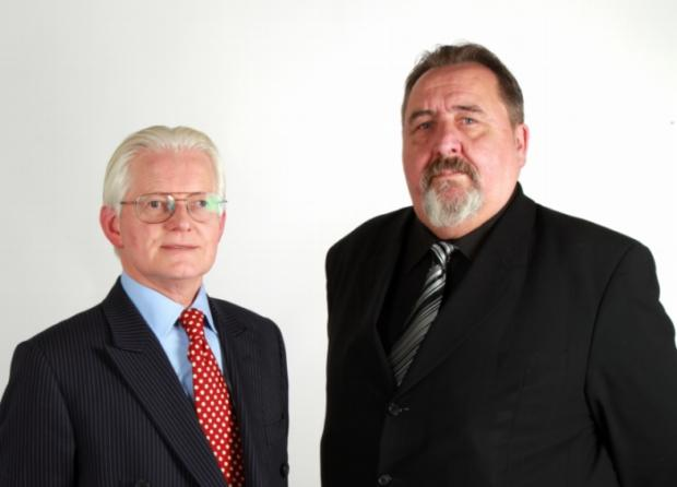 Councillors Keith Morrell and Don Thomas