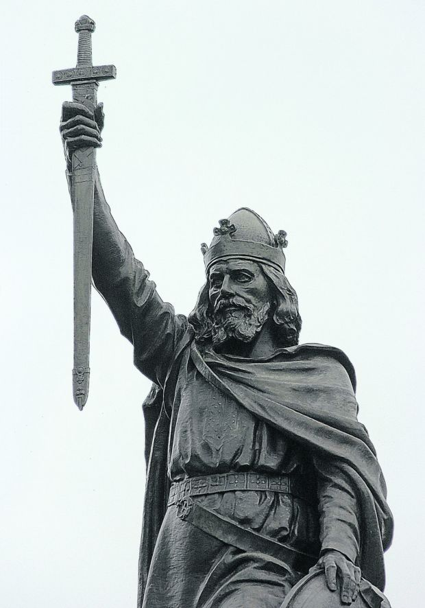 alfred the great King of wessex, scholar, and renowned christian monarch alfred was born in 849, the fifth son of the wessex king during a journey to rome in 853, he was accepted as a godson by pope leo iv.