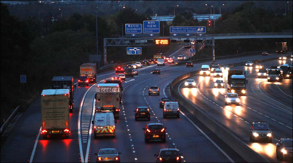 Part of motorway to be closed tonight