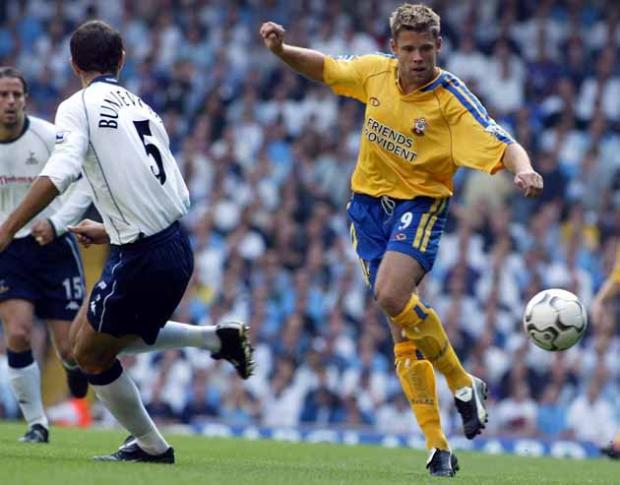 James Beattie against Spurs in 2003