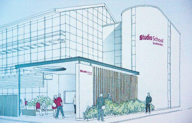 Artist's impression of the Studio School