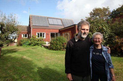 Dan and Jane Fish at their Hampshire home