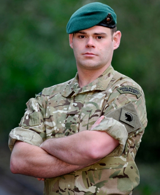 Tributes as Hampshire marine is killed in Afghanistan